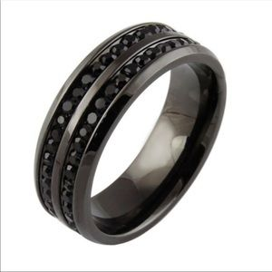 Other - Black stainless steal Ring 13